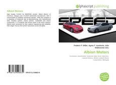Capa do livro de Albion Motors