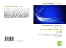 Bookcover of Fashion (Heidi Montag Song)