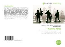 Bookcover of 1 Gorkha Rifles