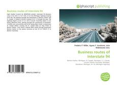 Bookcover of Business routes of Interstate 94
