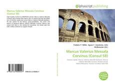 Capa do livro de Marcus Valerius Messala Corvinus (Consul 58)