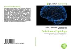 Bookcover of Evolutionary Physiology