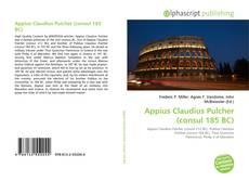 Bookcover of Appius Claudius Pulcher (consul 185 BC)