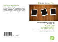 Bookcover of Albert Levy (photographer)