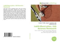 Bookcover of Judith Blunt-Lytton, 16th Baroness Wentworth