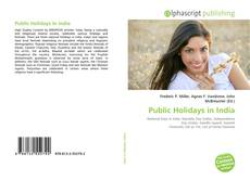 Bookcover of Public Holidays in India
