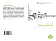Bookcover of Choral symphony