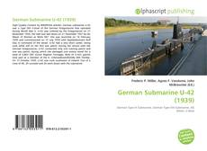 Bookcover of German Submarine U-42 (1939)