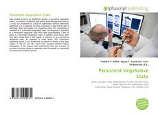 Bookcover of Persistent Vegetative State