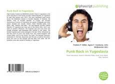 Bookcover of Punk Rock in Yugoslavia