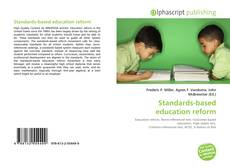 Bookcover of Standards-based education reform