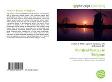 Buchcover von Political Parties in Belgium