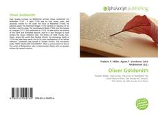 Couverture de Oliver Goldsmith
