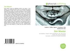 Bookcover of Zen Master