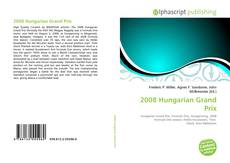 Bookcover of 2008 Hungarian Grand Prix
