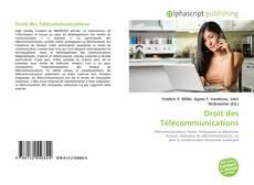 Bookcover of Droit des Télécommunications