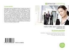 Bookcover of Vulnérabilité