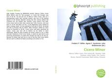 Couverture de Cicero Minor