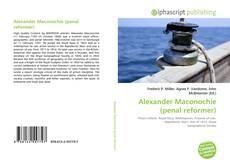 Обложка Alexander Maconochie (penal reformer)