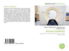 Обложка Herman Goldstine