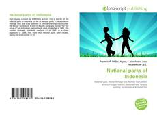 Bookcover of National parks of Indonesia