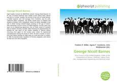 Portada del libro de George Nicoll Barnes