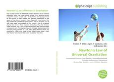 Capa do livro de Newton's Law of Universal Gravitation