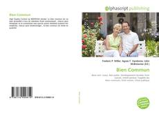 Bookcover of Bien Commun
