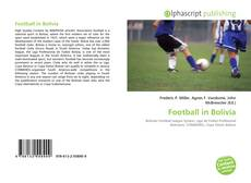 Bookcover of Football in Bolivia