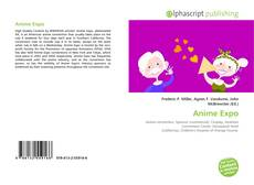 Bookcover of Anime Expo