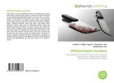 Whitechapel murders的封面