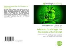 Bookcover of Adolphus Cambridge, 1st Marquess of Cambridge