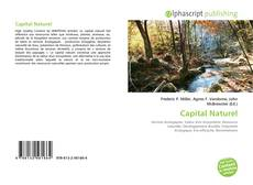 Copertina di Capital Naturel