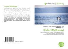 Buchcover von Ondine (Mythology)