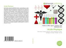 Portada del libro de Acide Phytique