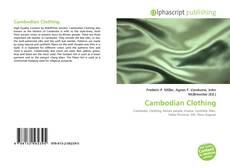 Cambodian Clothing kitap kapağı