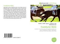 Copertina di Frankfurter Meile