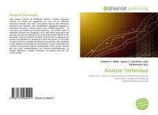 Bookcover of Analyse Technique