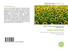 Bookcover of Kailas Nath Kaul