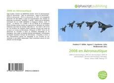 2008 en Aéronautique kitap kapağı