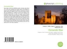 Fernando Díaz kitap kapağı