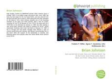 Bookcover of Brian Johnson