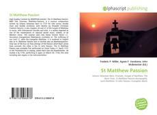 St Matthew Passion的封面