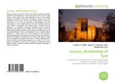 Portada del libro de Joscius, Archbishop of Tyre