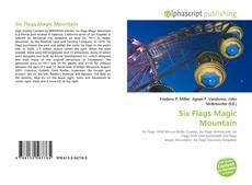 Capa do livro de Six Flags Magic Mountain