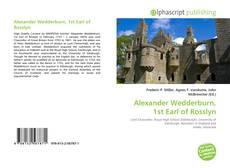 Borítókép a  Alexander Wedderburn, 1st Earl of Rosslyn - hoz
