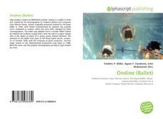 Capa do livro de Ondine (Ballet)