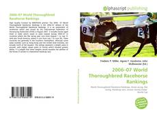Capa do livro de 2006–07 World Thoroughbred Racehorse Rankings