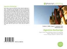 Обложка Agostino Barbarigo