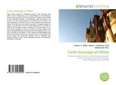Capa do livro de Carlo Gonzaga of Milan